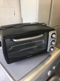Small Black Mini Oven With Grill Fully Working Order Just £20 Sittingbourne