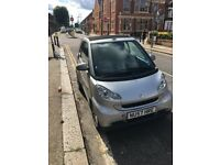 Smart car fortwo 1.0 cabriolet 2007 (automatic)