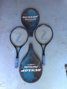2 Tennis rackets junior size