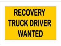 Experienced Recovery Truck Driver Wanted