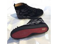 Christian Louboutin High top Spiked Men's Red Bottom Sneakers