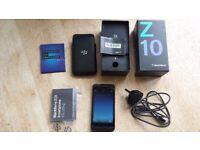 Blackberry Z10 16GB mobile phone smart phone