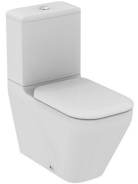 Ideal Standard Tonic II Close Coupled / Back to Wall WC Toilet ...