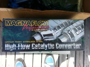 STAINLESS STEEL CATALYTIC CONVERTER NEW MAGINFLOW GA's or other