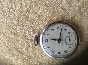Vintage westclox pocket watch