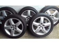 5 x Genuine Audi A6 Tyres