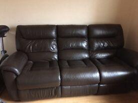 Scs. La z boy sofa £2200 electric recliner
