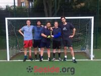 Teams wanted for 5-a-side leagues in Brixton!