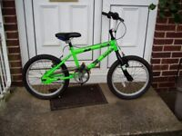 "BMX, BIKE, 18"" ALLOY WHEELS, CLEAN CONDITION, FULLY SERVICED."
