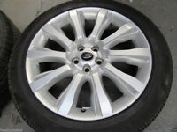 "GENUINE RANGE ROVER SPORT L494/405 VOGUE STYLE 501 21""INCH ALLOY WHEELS+TYRES X4"