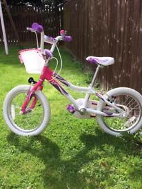 "Girl's 16"" inch bike"