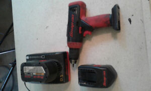 LOOK!!!snap-on tools, drill, a/c gauges, bit drill.