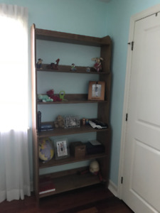 New price- perfect for child/student: table + chairs, bookcase