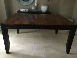 Beautiful real wood dining set