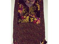 NEXT floral dress/long top
