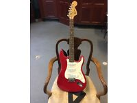 Electric Guitar Fender Squier Affinity Series Race Red