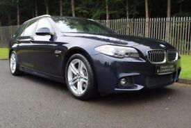 2014 14 BMW 5 SERIES 2.0 520D M SPORT TOURING 5D AUTO 181 BHP DIESEL