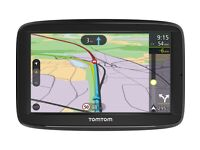 "TomTom Via 52 5"" Touch Screen, Western Europe Lifetime Maps & Bluetooth Hands Free calling"