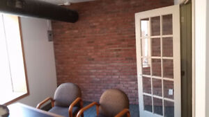 Amazing brick character office space on Whyte Ave!!