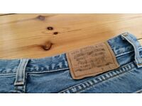 several pairs of ladies Levi Jeans for sale
