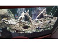 Shipwreck H70 cm fish tank aquarium