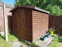 Quality Wooden 8X6 Shed For Sale