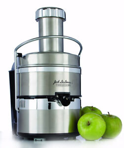 Jack LaLanne's Stainless Steel Power Juicer Pro E-1189