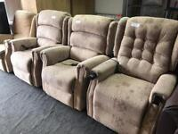 Brand new rise and recline chairs