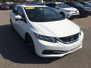 2015 Honda Civic EX  ONLY $155 BIWEEKLY WITH 0 DOWN!