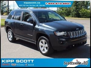 2014 Jeep Compass North 4x4, Cloth, Auto, A/C, Keyless Entry
