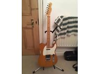 Squier affinity telecaster modified