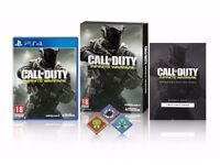 New Sealed PS4 Call Of Duty: Infinite Warfare Standard Edition w/ Extra Content and Pin Badges