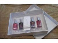 (Unused) Leighton Denny 5 luxury nail polish box set!