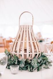 Broste bamboo lanterns (x10 available)