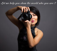 Professional Experieced Female Photographer