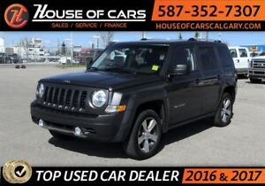 2016 Jeep Patriot High Altitude / 4WD / SunRoof / Leather