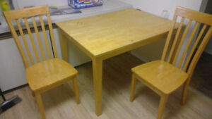 Matching Table and Chairs!