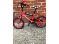 Boys 14 inch Bike almost new