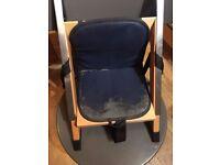 Handysitt child high chair seat - great for saving space