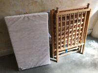 Kiddicare Compact Cot and Mattress