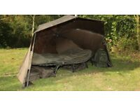 Nash scope ops brolly carp fishing as new
