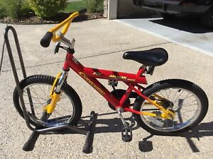 "Kids bike with front suspension 18"" wheels"