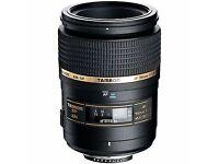 Tamron 90mm lens (Nikon fit)