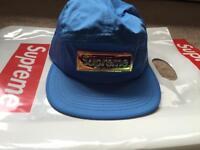 SUPREME Iridescent Logo Camp Hat