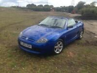 03/03 MG 1.6 TF 2DR SPORTS CONVERTIBLE (HARDTOP INCLUDED)