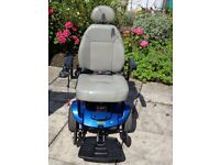 Pride Jazzy Electric Wheelchair in excellant condition & new battery. Ideal inside or outside.