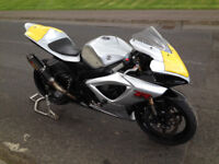 2007 GSXR 600 race/track bike high spec