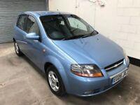 2005 Chevrolet Kalos Sx 1.4 *Low Warranted Mileage* Air Con, Alloys, 12 Month Mot, 3 Month Warranty