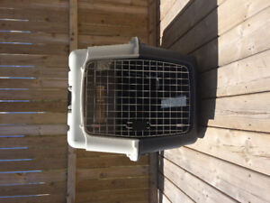 Large Dog crate in excellently condition. Wheels included