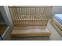 Baby bed wood